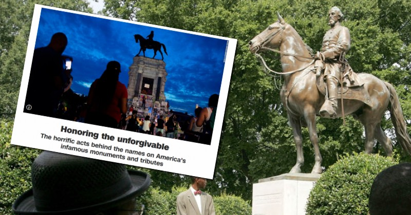 """CNN Compiles List of """"Unforgivable"""" Statues & Place Names, Suggesting They Should be Changed or Removed"""