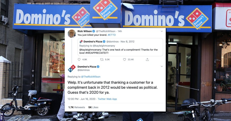 Rick Wilson Humiliated After Trying to Politicize 8-Year-Old Dominos Pizza Tweet
