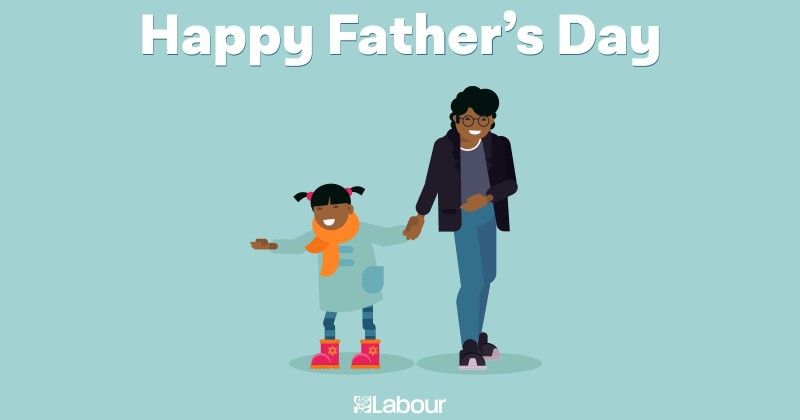 UK Labour Party Slammed For Baffling 'Fathers Day' Image That Suggested Black Father Was Absent