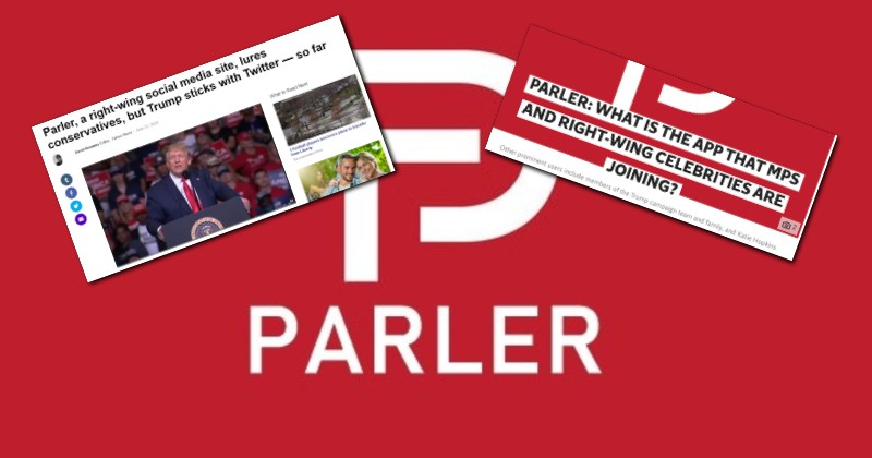 Media Demonization of Parler Begins After Free Speech Network Attracts Flood of New Users