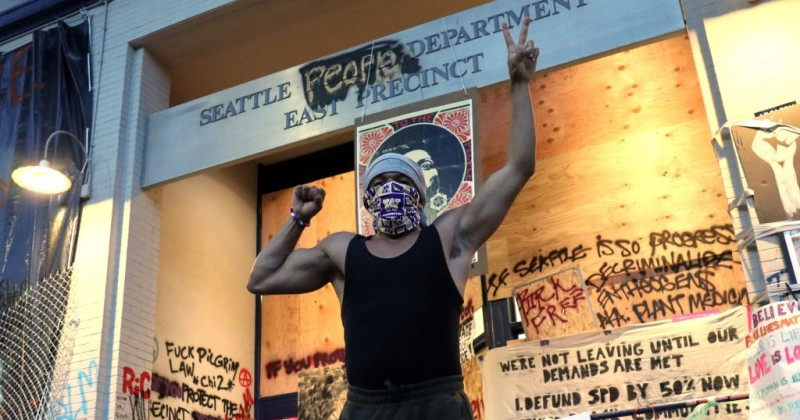 """Seattle CHOP Leaders Tell Protesters to Go Home, Support """"Revolutionary"""" Candidate Joe Biden"""