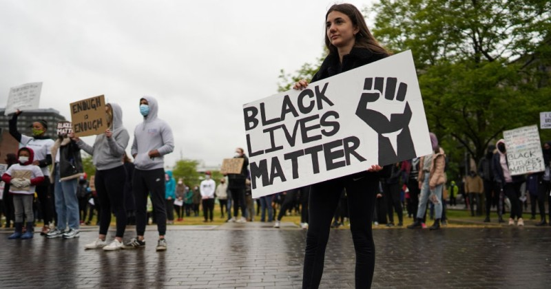 "UK Police Force Forbids ""Counter-Protest"" to Black Lives Matter Gathering"