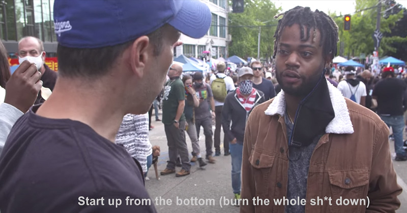 "Video: CHAZ Residents Admit They Want to ""Burn The Whole Sh*t Down"""