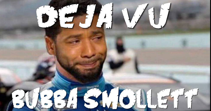 Déjà vu: Bubba Smollett
