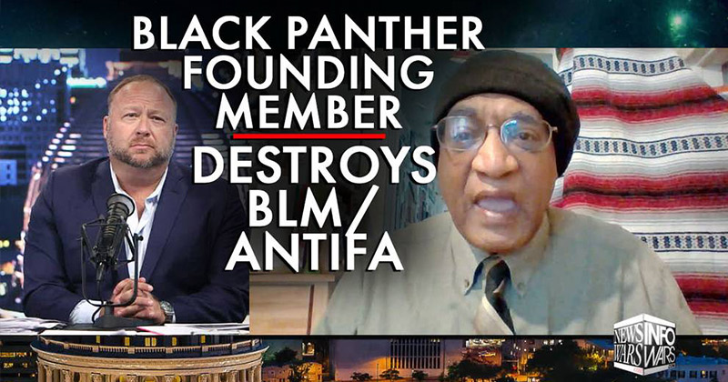Watch: Founding Member Of Black Panther Party Destroys BLM/Antifa