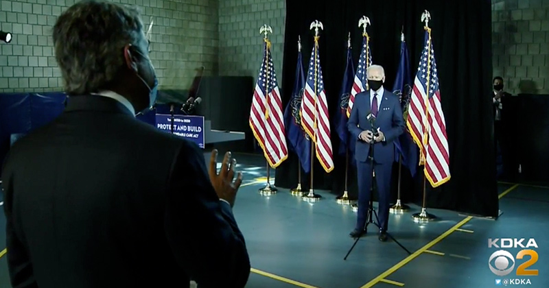 Red Alert! If Elected, Joe Biden Will Sign Mandatory Mask Executive Order