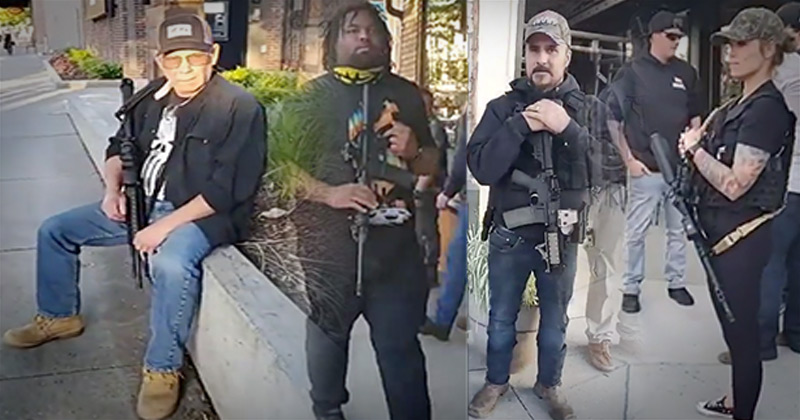 Watch: This Town Is A Second Amendment Haven - No Looters Coming Here!