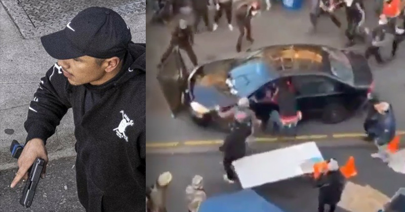 """Left Claims Latino Who Shot Protester Was """"Known White Supremacist"""""""