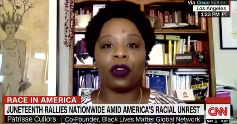 "BLM Co-Founder Admits: ""Our Goal Is To Get Trump Out"""