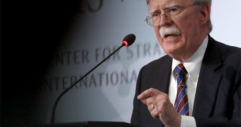Bolton Said He Had 'No Problem' With Lying In 2010 Interview