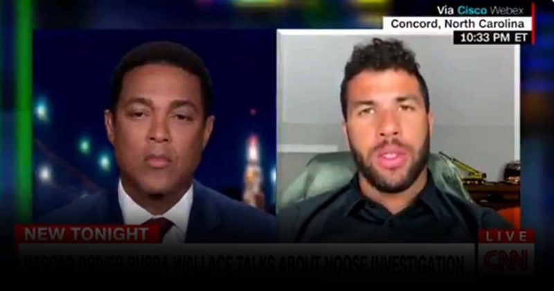 VIDEO: Bubba Wallace Doubles Down on Noose Story After FBI and NASCAR Debunk Claim
