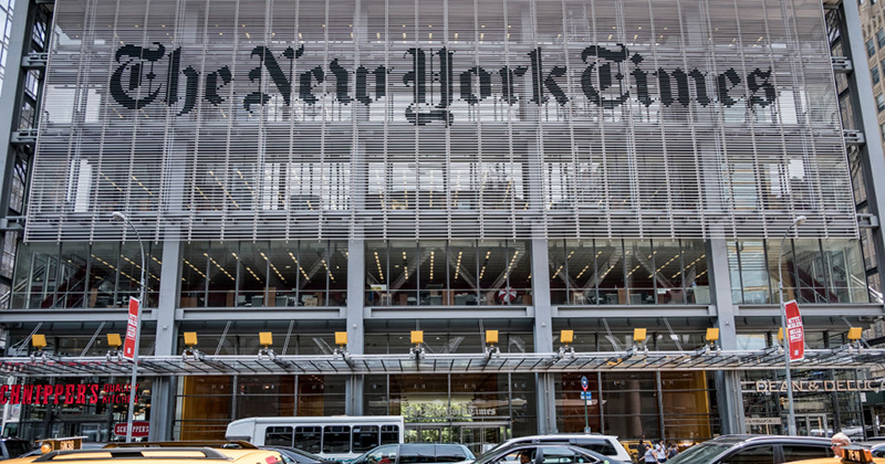 Editorial by Mob: NYT Leadership Loses Control over Its Own Newsroom