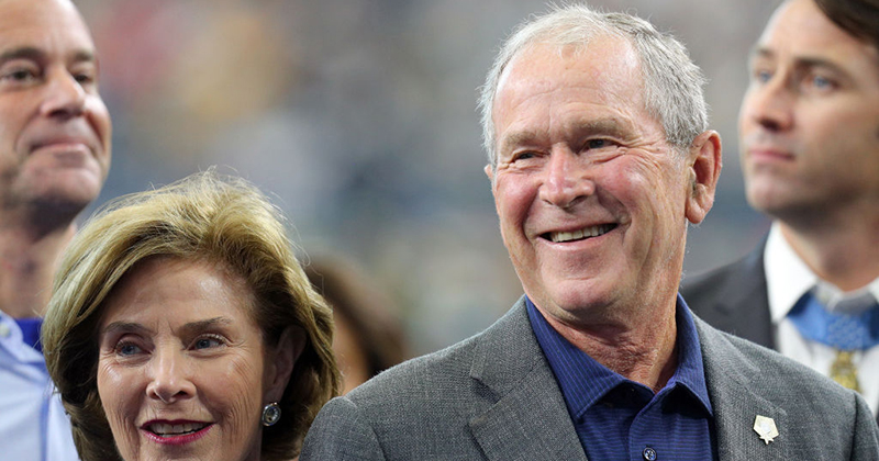 Racial Healer? The Media Has Conveniently Forgotten George W. Bush's Many Atrocities