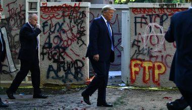 Leftists, Hollywood Celebrities Melt Down Over 'Fascist' Trump Squashing 'Protests'