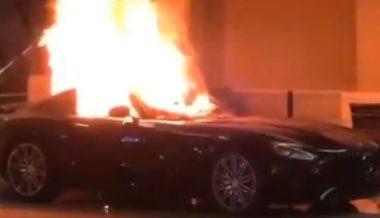 Watch: Vandals Destroy Cars in Mercedes-Benz Showroom