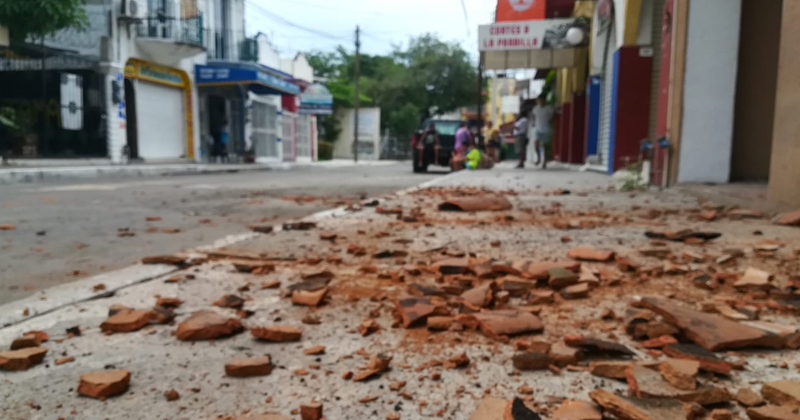 Footage Shows Powerful 7.4-Magnitude Earthquake Hit Mexico