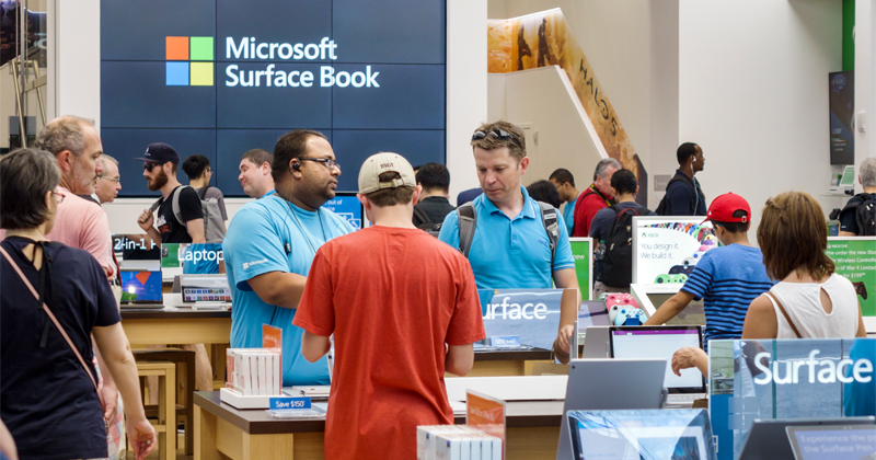 Microsoft Permanently Closing All Retail Stores