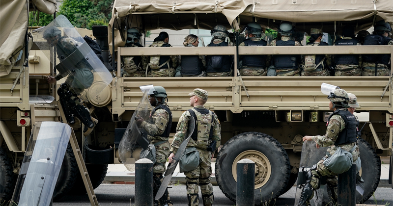 Minnesota to Test All 7,000 National Guardsmen Deployed to Quell Riots After One Tests Positive