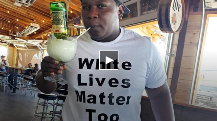 "Black Man Allegedly Jumped For Wearing ""White Lives Matter Too"" Shirt"