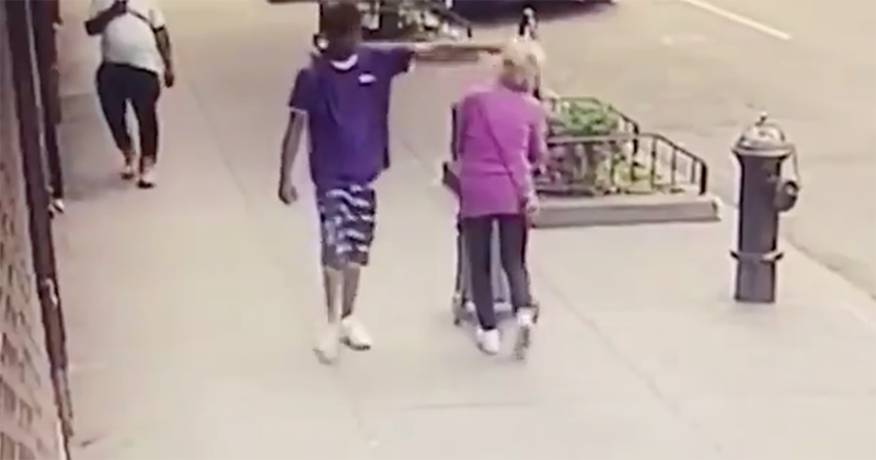 Report: Police Say Thug Filmed Shoving 92yo Woman to The Ground In NYC Has 101 Prior Arrests