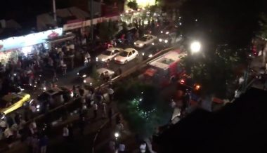 String of Explosions Rock Tehran
