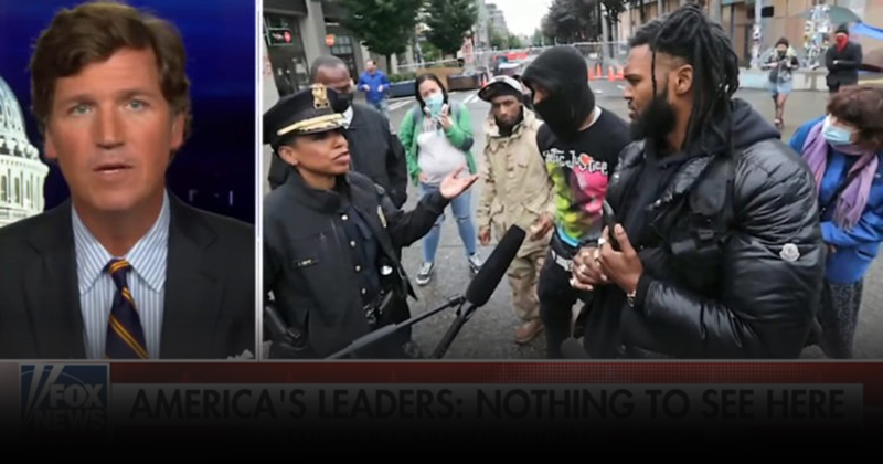 TUCKER CARLSON: 'Countries Have Borders, and the Founders of CHAZ Understood That'