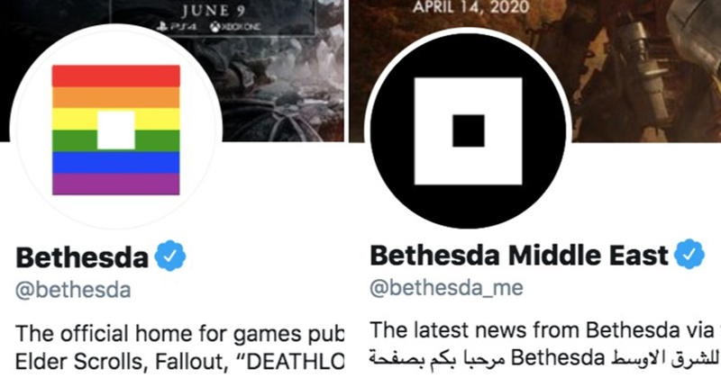 'FAKE WOKENESS': Video Game Firm Switches Profile to LGBT Flag… But NOT on Middle East Account!