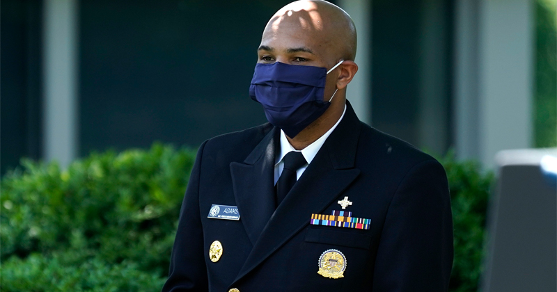 "US Surgeon General Flip-Flops From ""Stop Buying Masks"" To Claiming ""Masks Promote Freedom"""