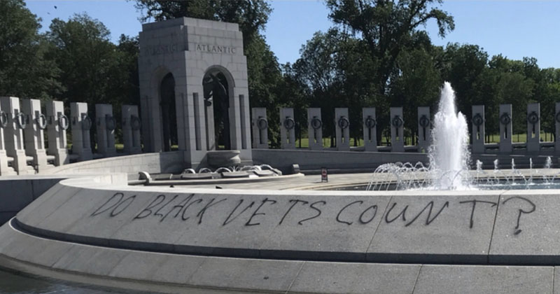 Lincoln, WWII Memorials Vandalized During BLM Riots