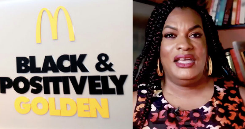 McDonald's Releases 'Trans' BLM Ad Featuring George Soros Minion