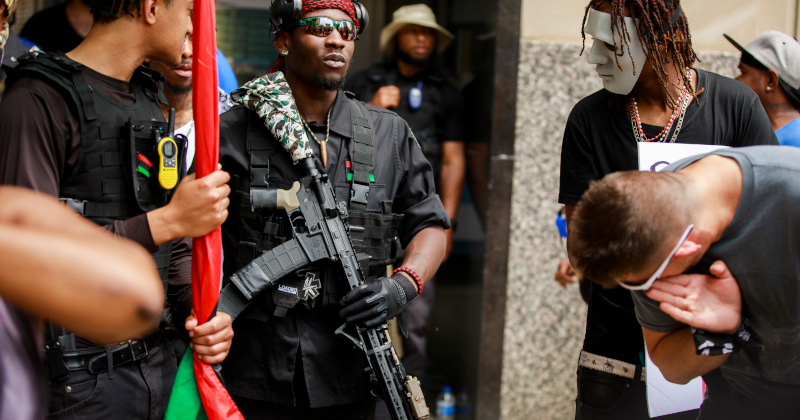 Black Gun Ownership Soars As Nation's Inner Cities Burn