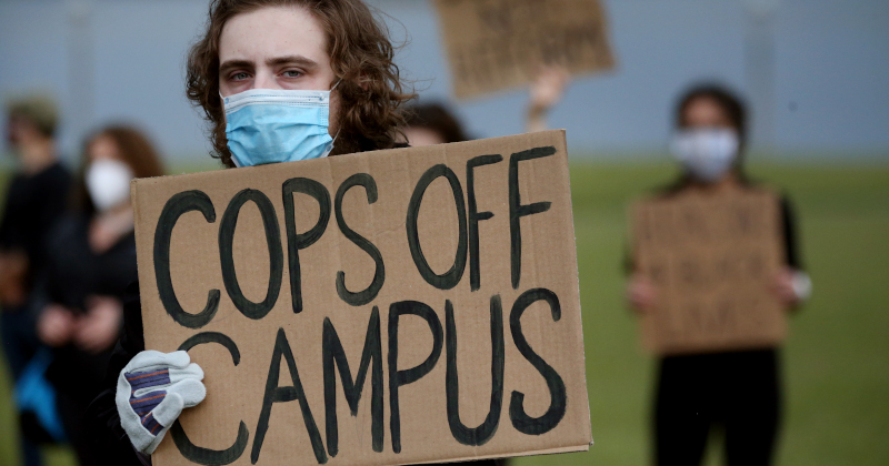UMass-Boston: 'The State Police Presence on Campus Has Ended'