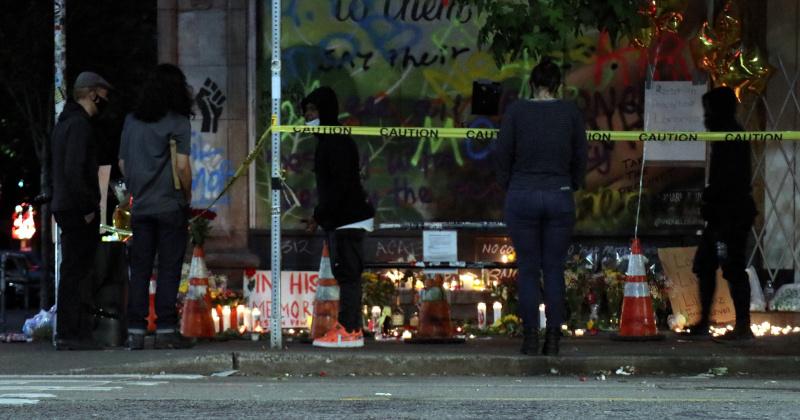 Watch: Gunshots Interrupt Interview Inside CHOP