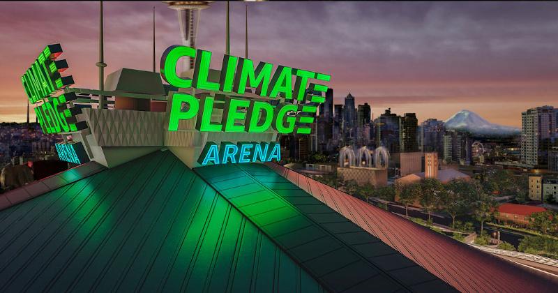 Jeff Bezos to Rename Stadium 'Climate Pledge Arena'