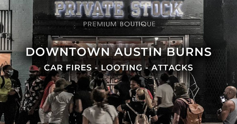 Citizen Attacked and Local Business Looted In Downtown ATX