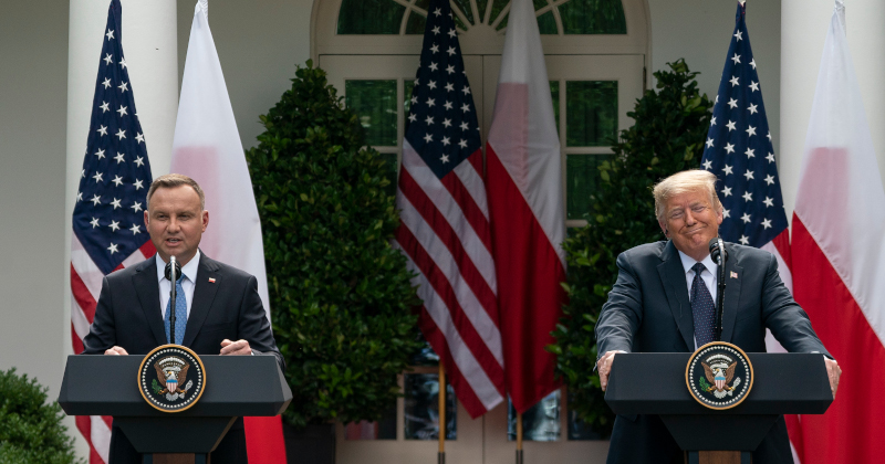 US Moving Troops From Germany to Poland, Trump Says