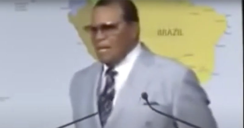Video: Louis Farrakhan Warns Africans Not To Take Bill Gates Vaccines
