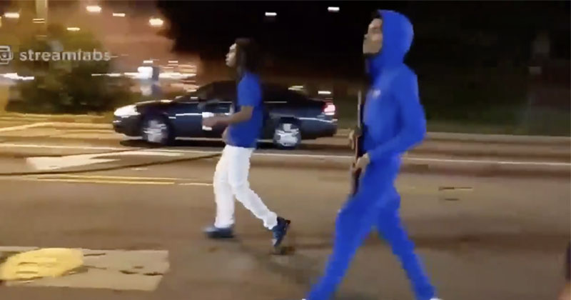 Shock Video: Gunfight Erupts In Atlanta Streets, Bystander Shot
