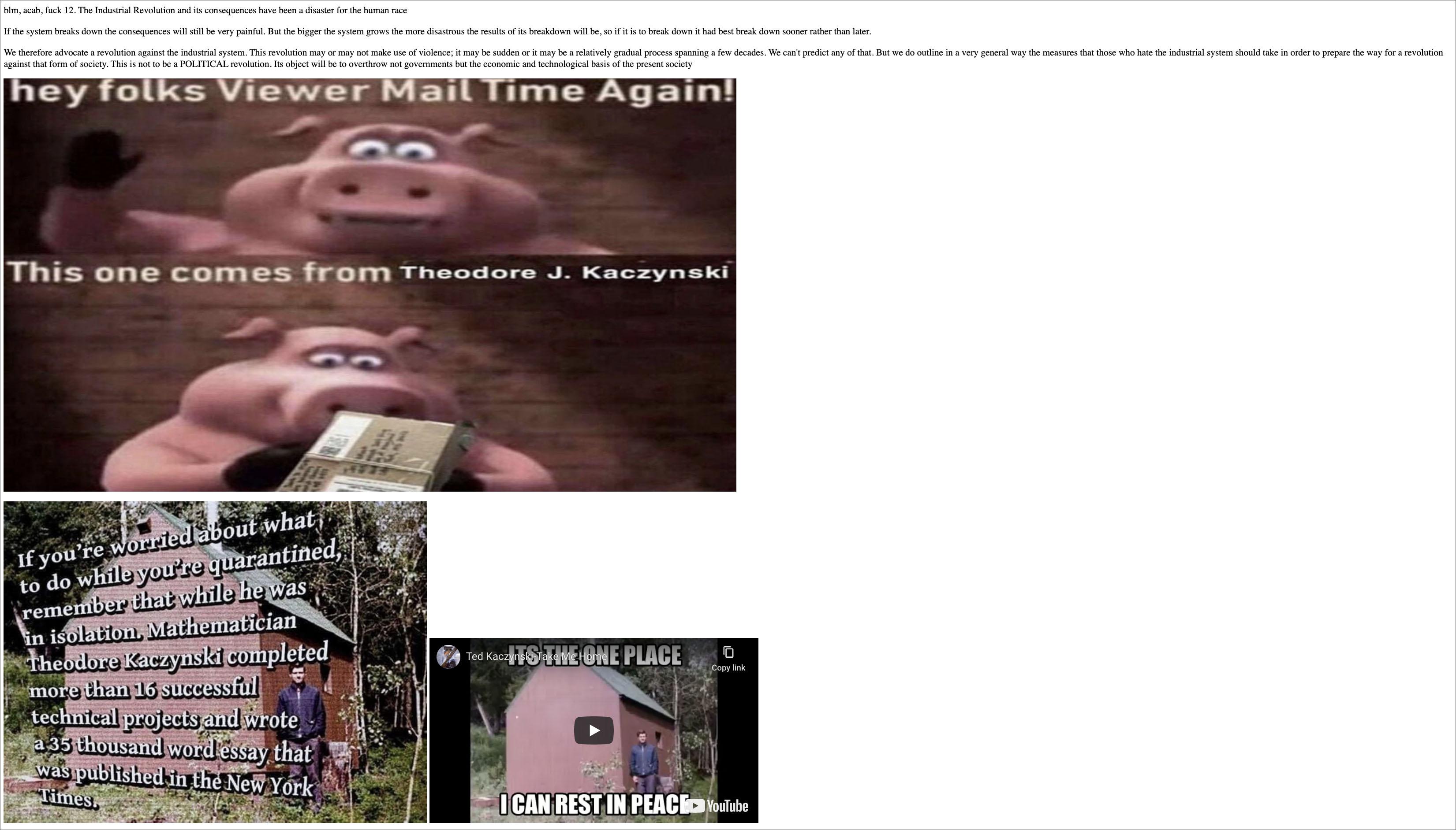 Infowars Site Taken Over By Antifa Anti-Free Speech Activists