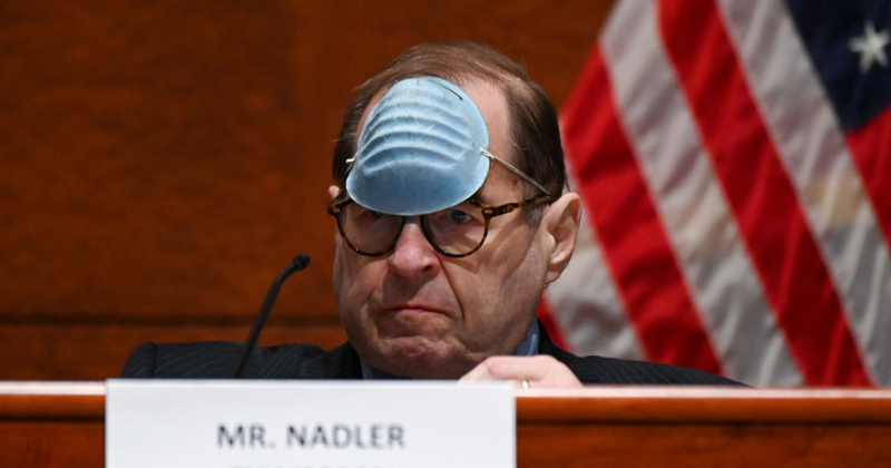 Incredible: Nadler Refuses to Recognize Rep. Who Won't Wear Face Mask