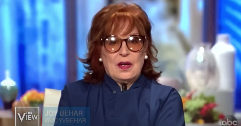 """The View's Joy Behar: Me & Husband """"Drive Around Looking for People Not Wearing Masks"""""""
