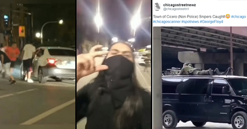 WATCH: Latino Gangs Go to War With 'Looters' in Cicero Suburb of Chicago