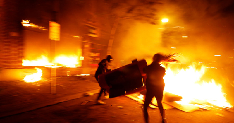 Who's Behind the Riots? Watch American Countdown LIVE