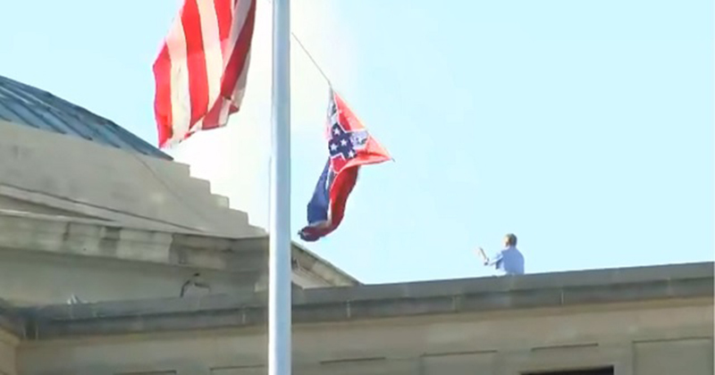 Mississippi Republican Lawmakers Vote to Remove State's Flag