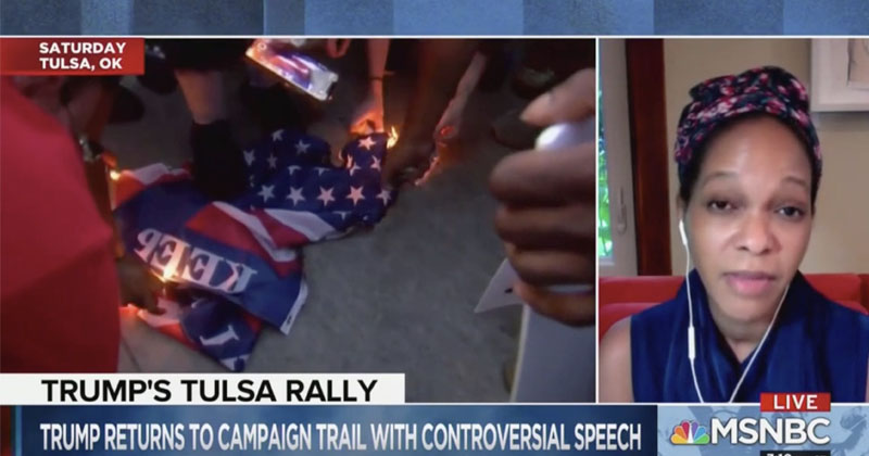 MSNBC: Trump Fans 'Super-Spreaders' But BLM Protesters Have 'Extraordinary Courage'