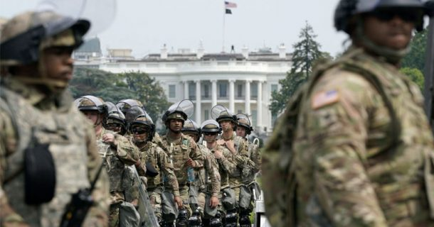 Pentagon Chief Disarms DC National Guardsmen Ahead Of Saturday Protests