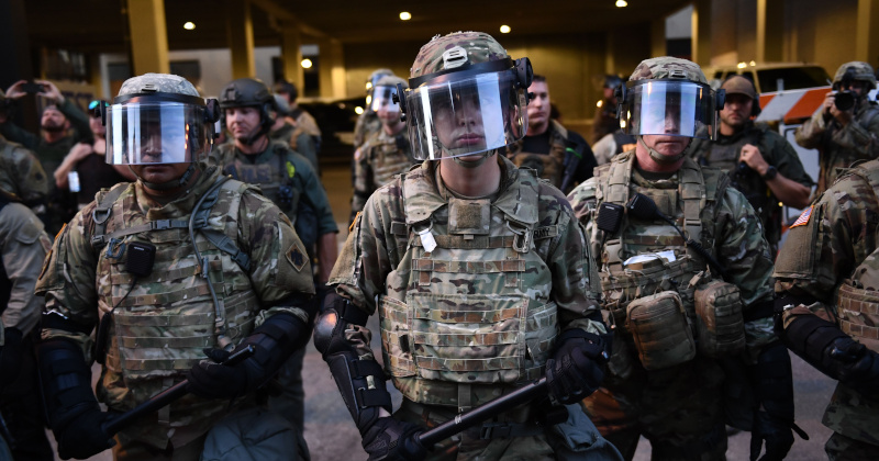 National Guard Activated In DC, Wisconsin to Protect Monuments