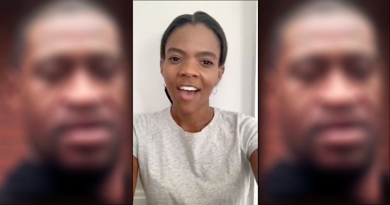Watch: Candace Owens Blasts Left's Depiction of George Floyd as a Martyr