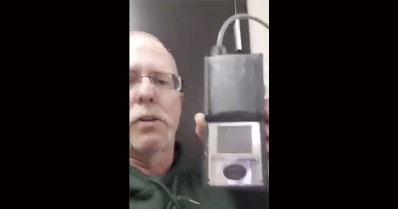 Watch: Air Quality Device Proves Masks Unsafe For Work