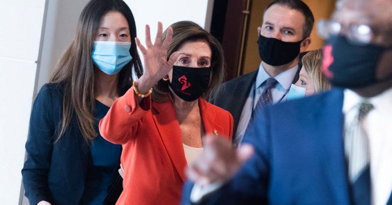 Pelosi and Democrats Call for Mandatory Masks Nationwide